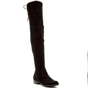 Catherine Malandrino Morcha Faux Fur Black Boots